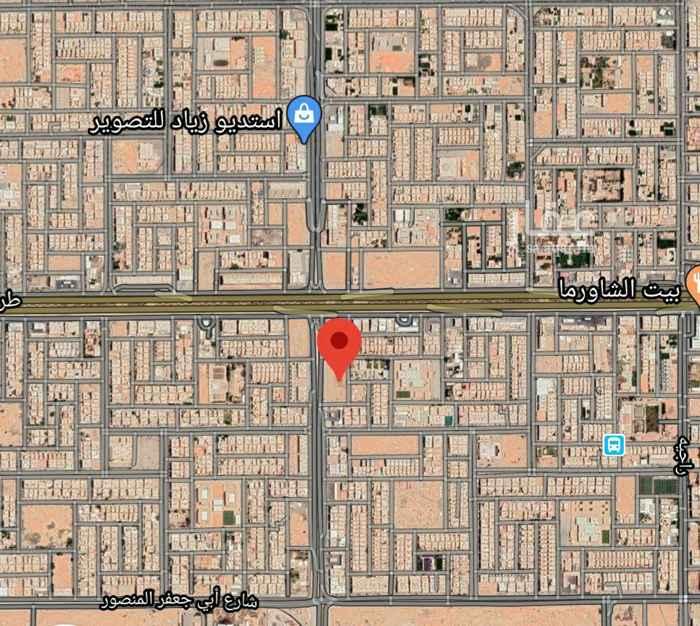 أرض للبيع في شارع الشيخ حسن بن حسين بن علي ، حي اليرموك ، الرياض ، الرياض