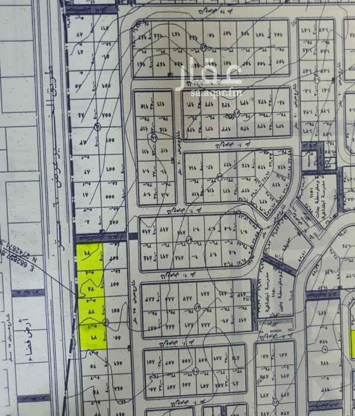 أرض للبيع في شارع رقم 193 ، حي الملقا ، الرياض ، الرياض