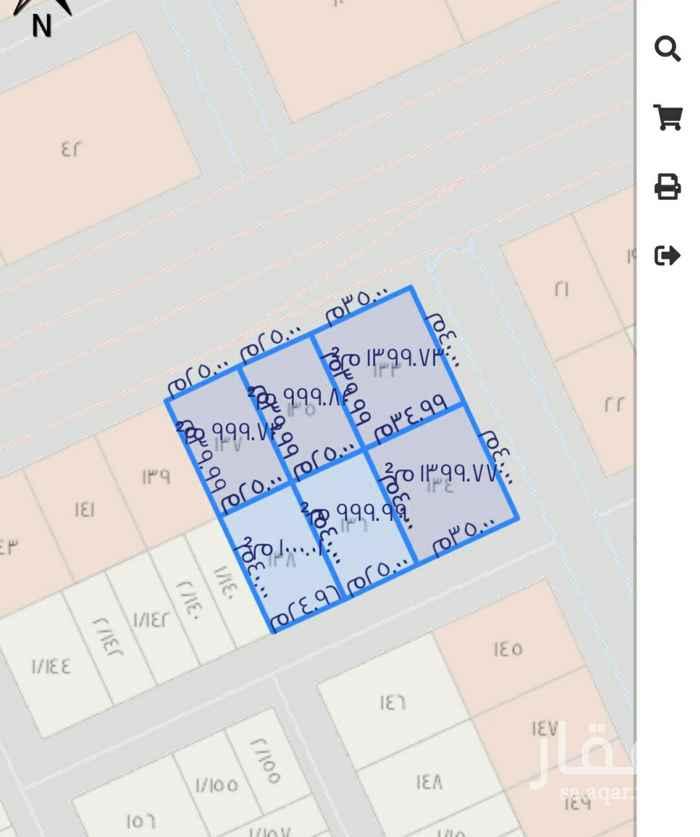 أرض للبيع في طريق الإمام عبدالله بن سعود بن عبدالعزيز ، حي الحمراء ، الرياض ، الرياض
