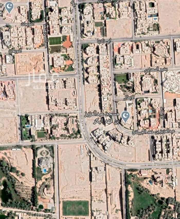 أرض للبيع في شارع علي عبدالله القضاعي ، حي الخزامى ، الرياض ، الرياض