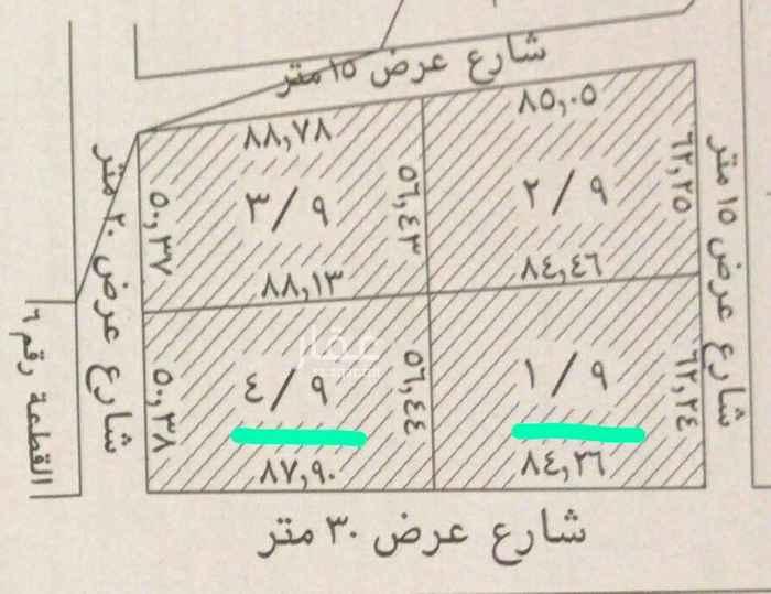 أرض للبيع في شارع الوادي ، حي لبن ، الرياض ، الرياض