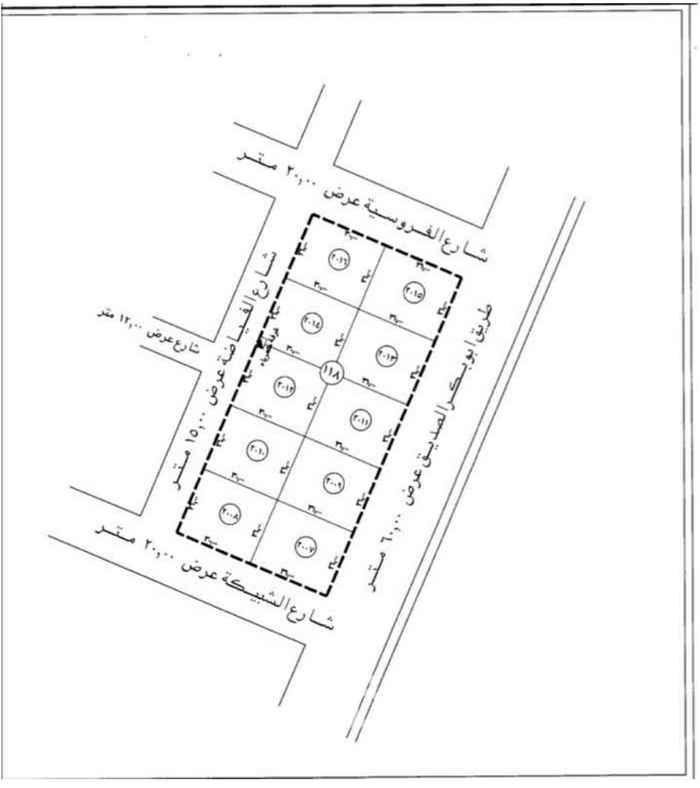 أرض للبيع في شارع ابي بكر الصديق ، حي الربيع ، الرياض ، الرياض