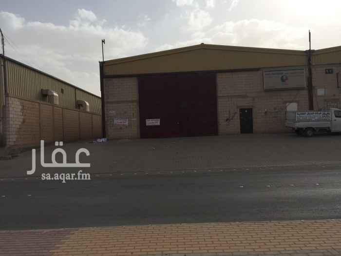 مستودع للإيجار في شارع شبه الجزيرة ، حي السلي ، الرياض ، الرياض
