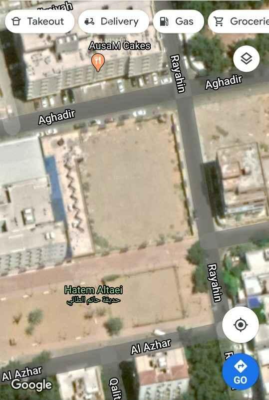 أرض للبيع في شارع اغادير ، حي العزيزية ، جدة ، جدة