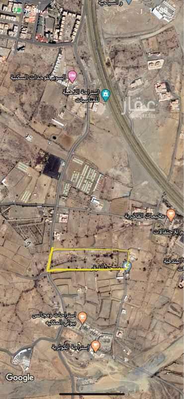 أرض للإيجار في حي قرى آل غليظ ، أبها ، أبهــــا