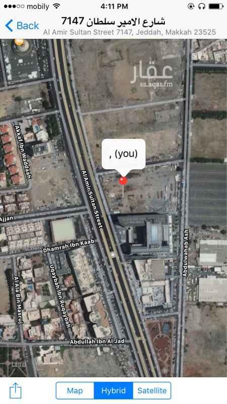 أرض للإيجار في شارع الامير سلطان, حي السلامة, جدة