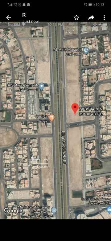 أرض للإيجار في شارع عبدالله بن عمير ، حي المحمدية ، جدة ، جدة