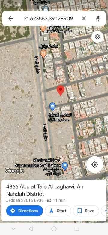 أرض للبيع في شارع الصفا ، حي النهضة ، جدة ، جدة