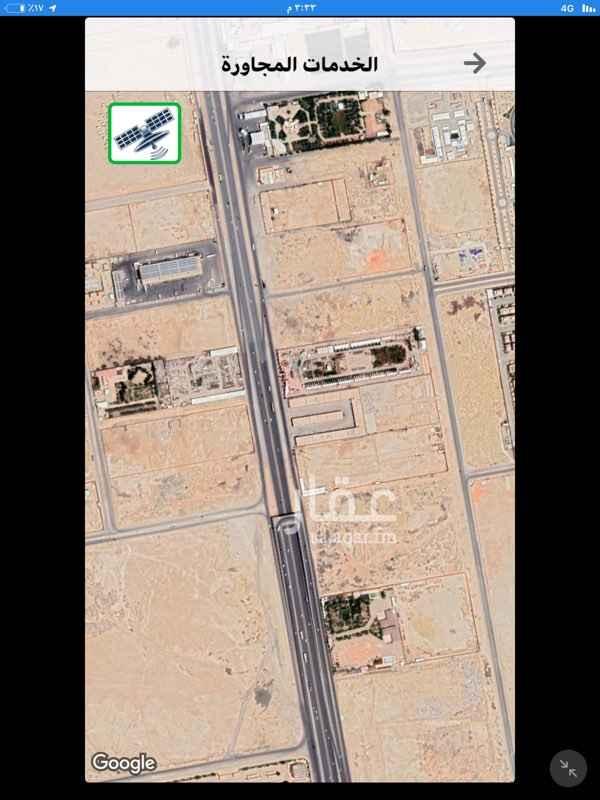 أرض للبيع في كوبري أبوراس ، طريق الملك فهد الفرعي ، حي العارض ، الرياض ، الرياض