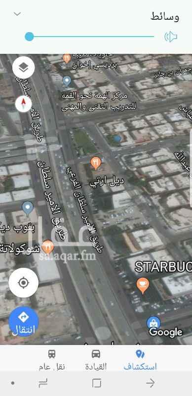 أرض للإيجار في طريق الامير سلطان ، حي النهضة ، جدة