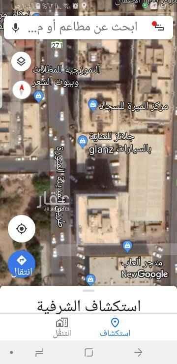 أرض للإيجار في طريق المدينة المنورة ، حي الشرفية ، جدة