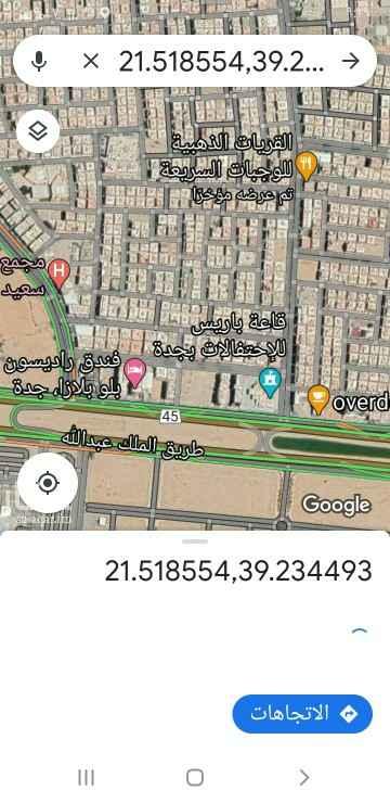 أرض للإيجار في شارع أم المؤمنين سودة ، حي النسيم ، جدة ، جدة