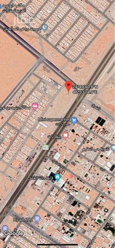 أرض للإيجار في حي الجنادرية ، الرياض