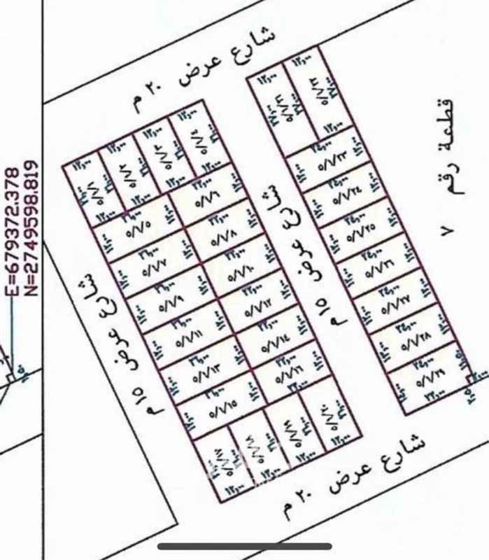 أرض للبيع في حي ، شارع ابن يحيي الاسدي ، حي المونسية ، الرياض