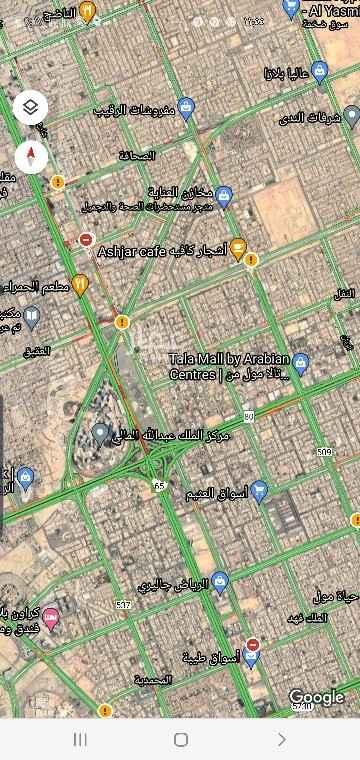 أرض للإيجار في طريق الملك فهد ، حي العليا ، الرياض ، الرياض