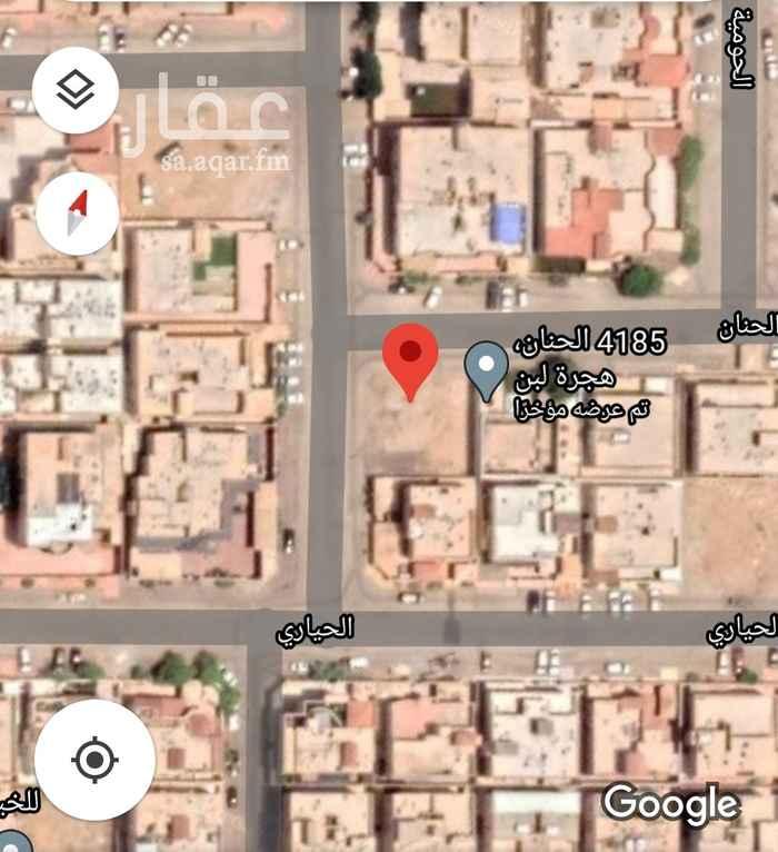 أرض للبيع في شارع الحنان ، حي هجرة لبن ، الرياض ، الرياض