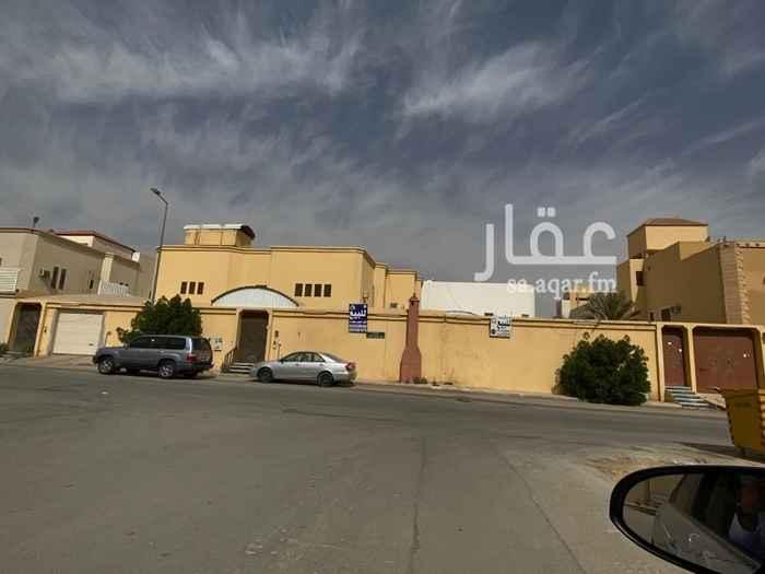 فيلا للبيع في شارع عبدالحميد الكاتب ، حي الزهرة ، الرياض ، الرياض