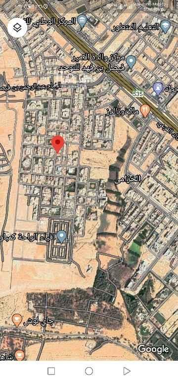 أرض للبيع في شارع صفوان الجديده ، حي الخزامى ، الرياض ، الرياض