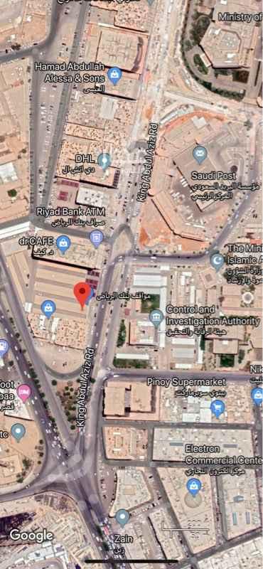 أرض للإيجار في طريق الملك عبدالعزيز ، حي المربع ، الرياض