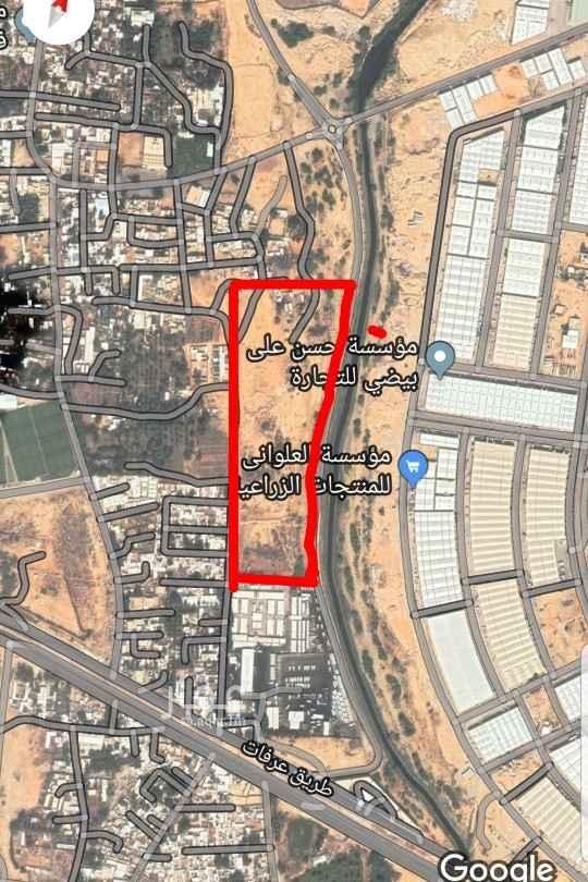 أرض للبيع في شارع محمد المبارك ، حي المصانع ، الرياض ، الرياض