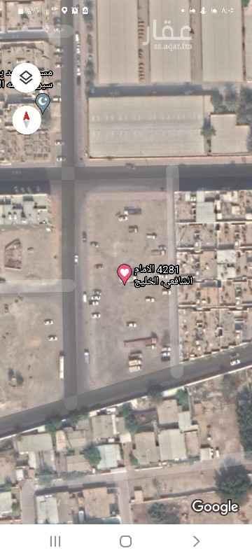 أرض للبيع في شارع الامام الشافعي ، حي الخليج ، الدمام ، الدمام