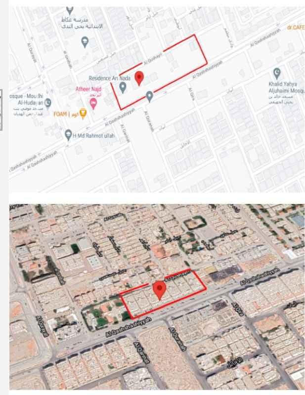 عمارة للبيع في شارع القشاشية ، حي الندى ، الرياض ، الرياض