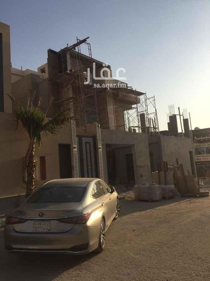 فيلا للبيع في شارع المجامين ، حي الملقا ، الرياض