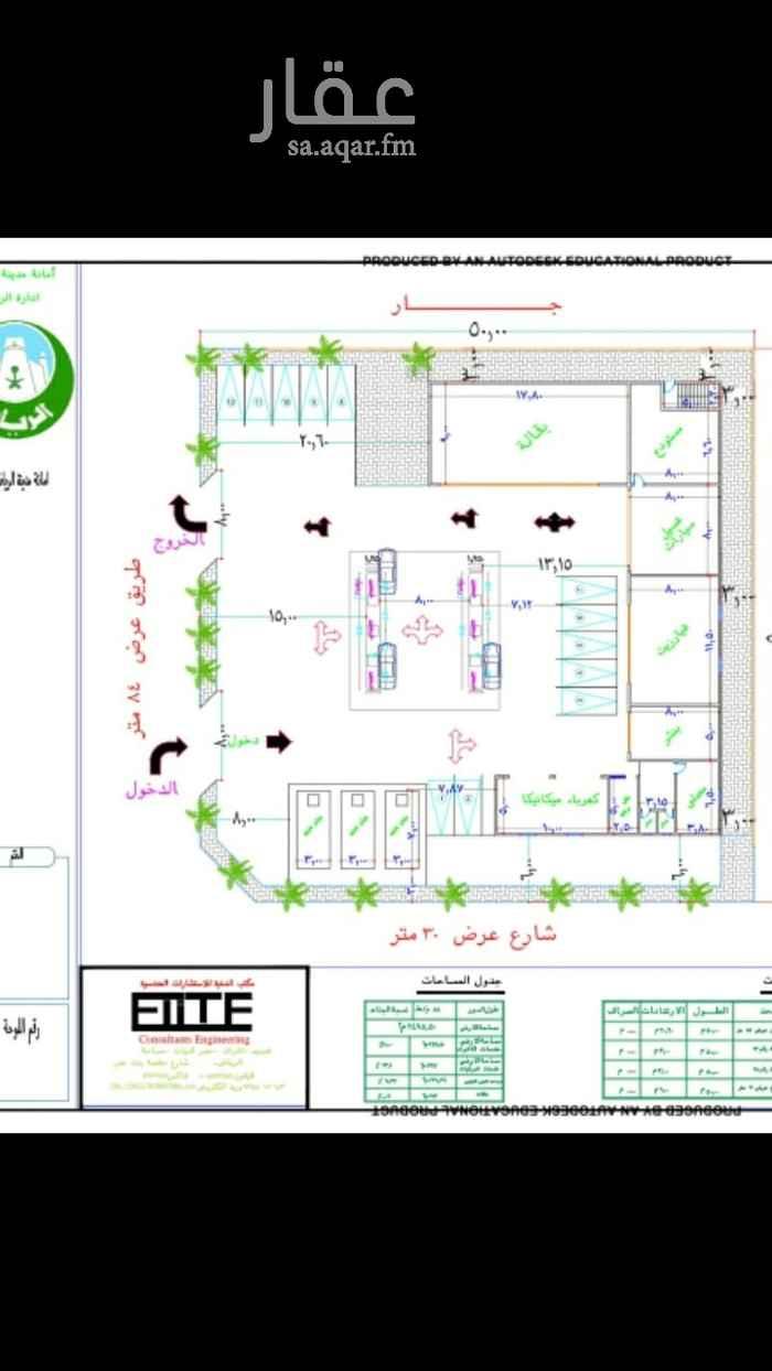 عمارة للإيجار في طريق خريص ، حي الجنادرية ، الرياض