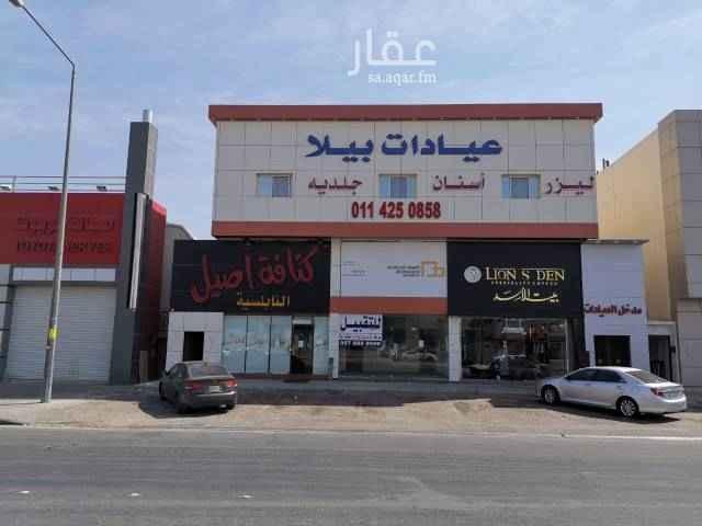 محل للإيجار في شارع عائشة بنت أبي بكر ، حي السويدي ، الرياض