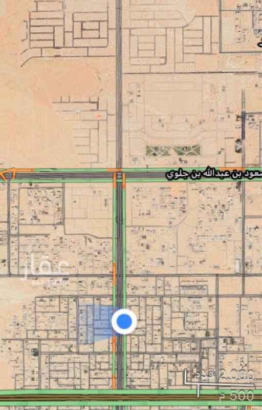 أرض للإيجار في طريق الأمير محمد بن سعد بن عبدالعزيز ، الرياض ، الرياض
