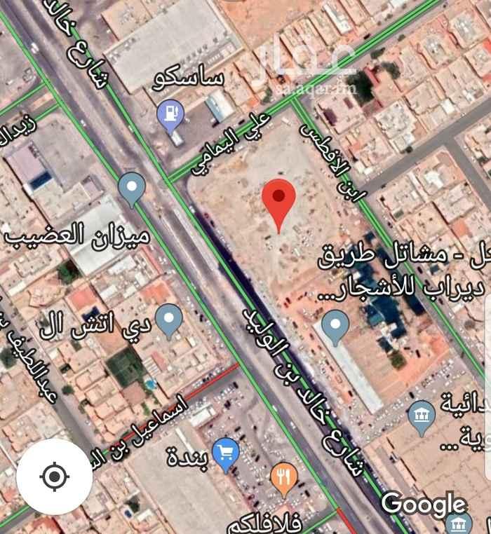 أرض للبيع في شارع خالد بن الوليد ، حي الاندلس ، الرياض