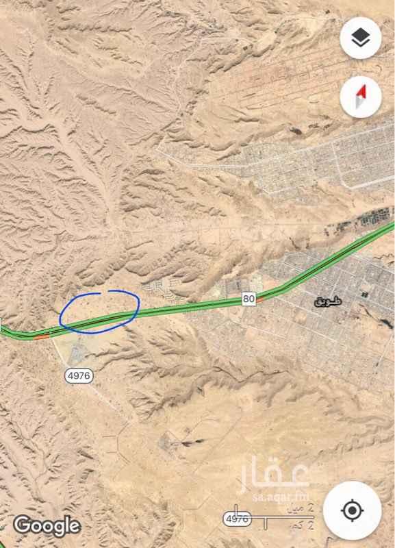 أرض للإيجار في طريق جبل أجياد ، الرياض