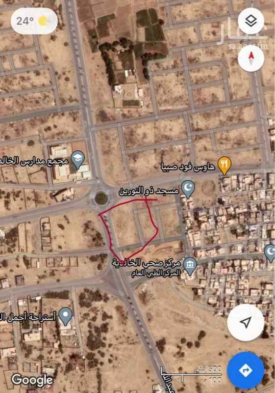 أرض للإيجار في طريق الملك عبدالله ، صبيا ، صبياء
