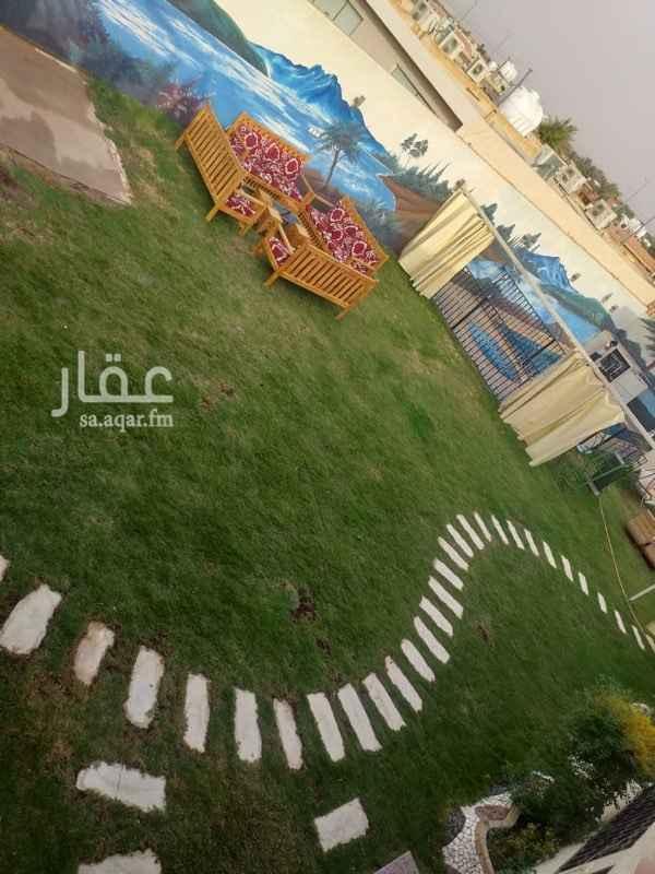 استراحة للإيجار في طريق صلاح الدين الأيوبي ، حي الملك عبدالعزيز ، الرياض