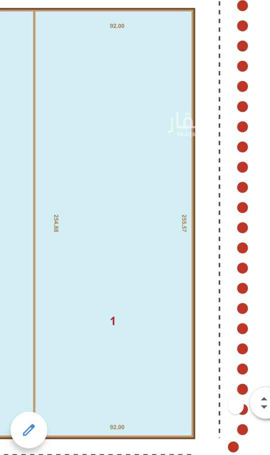 أرض للإيجار في طريق خريص الفرعي ، حي النهضة ، الرياض ، الرياض