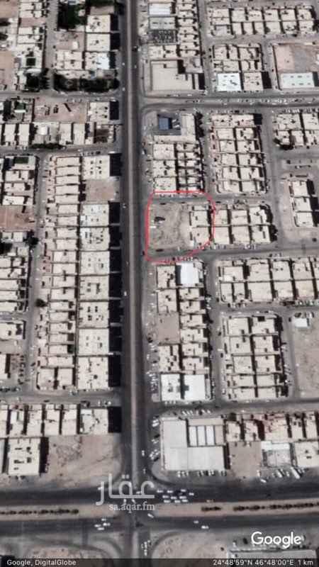 أرض للإيجار في شارع ابي جعفر المنصور ، حي اليرموك ، الرياض
