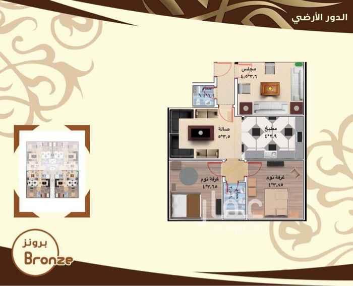 شقة للبيع في شارع معان بن فارعة ، حي الرانوناء ، المدينة المنورة