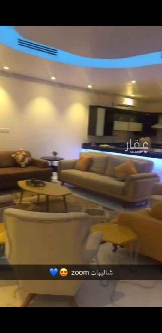 استراحة للبيع في شارع عبدالملك بن عمر بن عبدالعزيز ، حي مطار الملك خالد الدولي ، الرياض ، الرياض