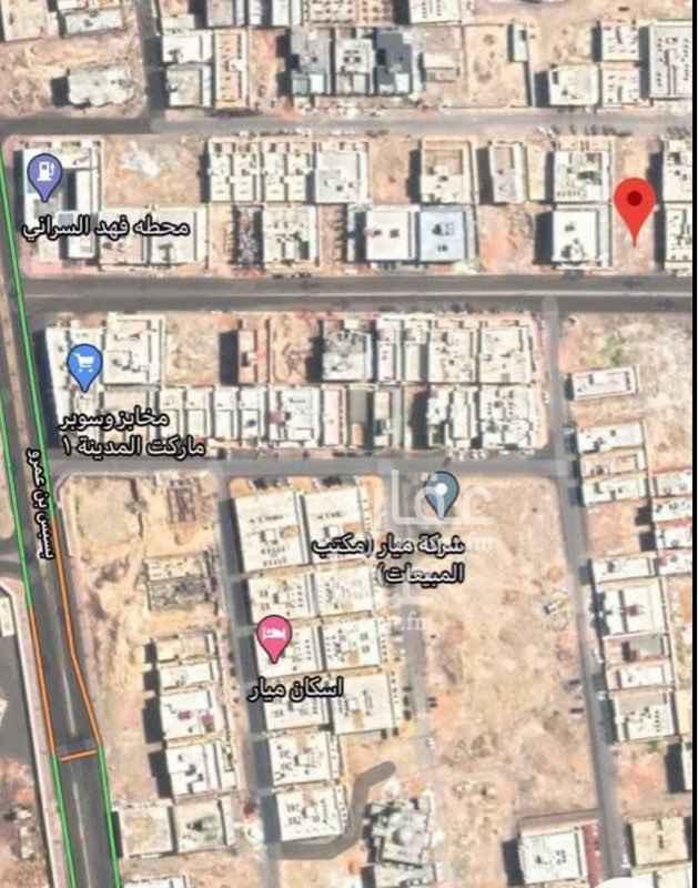 أرض للبيع في شارع الفضل بن الحباب الجمحي ، حي الرانوناء ، المدينة المنورة ، المدينة المنورة