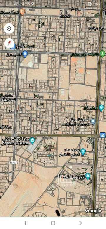 أرض للبيع في شارع الشبيكة ، حي الحمراء ، الرياض ، الرياض