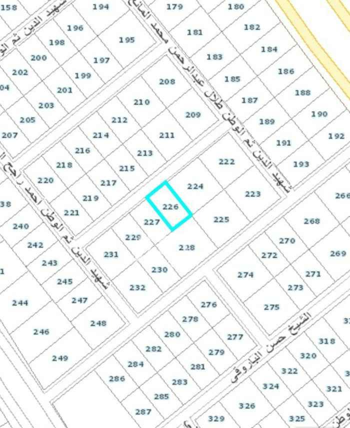 أرض للبيع في شارع الأمير سطام بن عبدالعزيز ، حي الخزامى ، الرياض ، الرياض