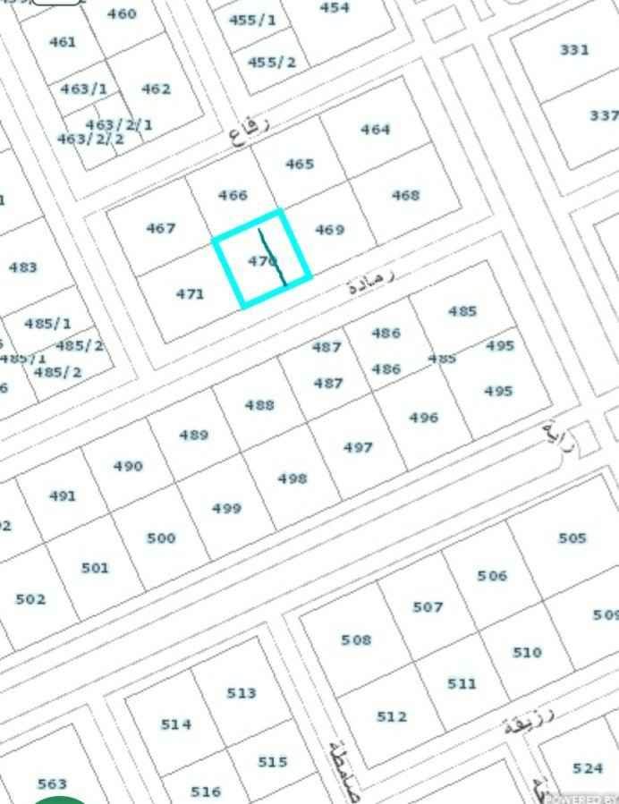 أرض للبيع في شارع رايه ، حي قرطبة ، الرياض ، الرياض