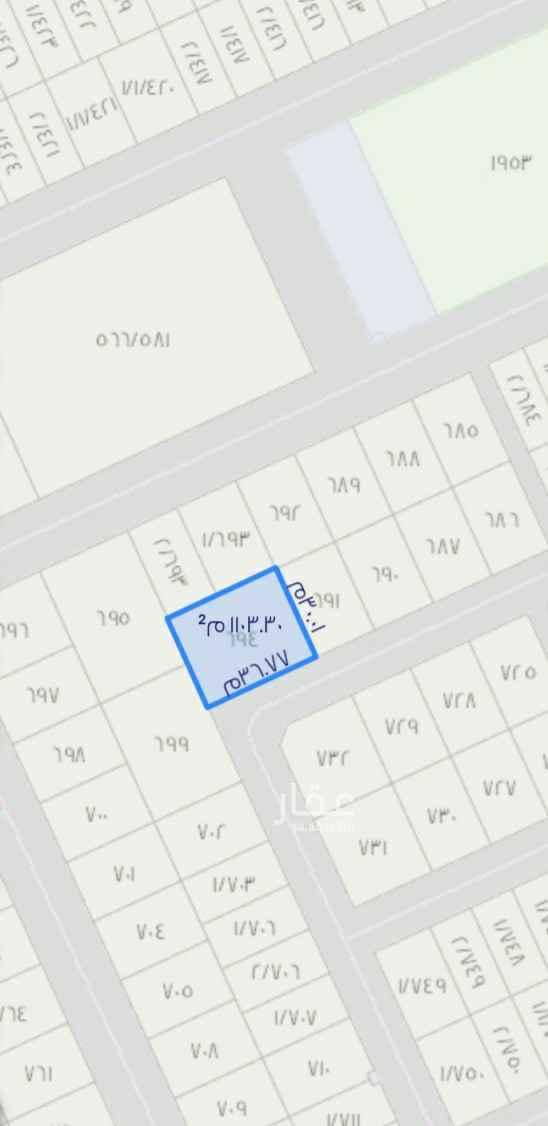 أرض للبيع في حديقة عجلان واخوانه حي القيروان الرياض الرياض 2202445 تطبيق عقار