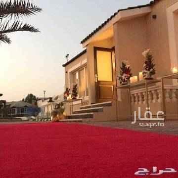 استراحة للإيجار في شارع دحيه بن خليفه ، حي الرمال ، الرياض