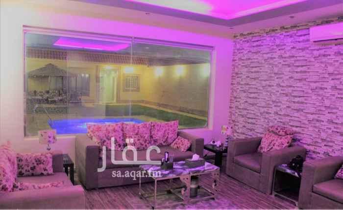 استراحة للإيجار في شارع سعيد بن نفيل ، حي الرمال ، الرياض ، الرياض