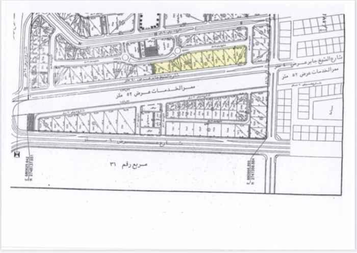 أرض للبيع في شارع الشيخ جابر الاحمد الصباح ، حي الرمال ، الرياض ، الرياض