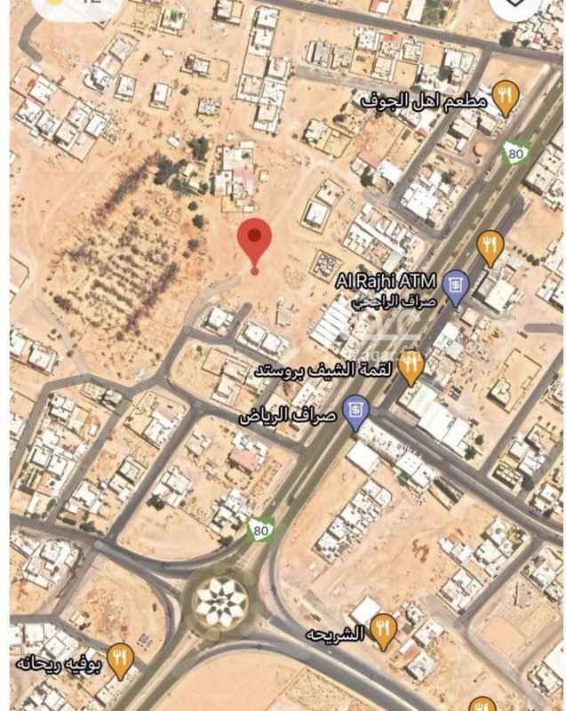 أرض للبيع في حي مخطط نايف الدرزي ، سكاكا ، سكاكا