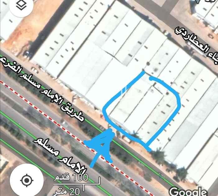 مستودع للإيجار في شارع الامام مسلم ، حي بدر ، الرياض ، الرياض