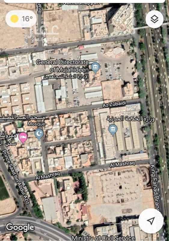 أرض للبيع في شارع الأمير سعد بن عبدالعزيز ، حي النموذجية ، الرياض ، الرياض