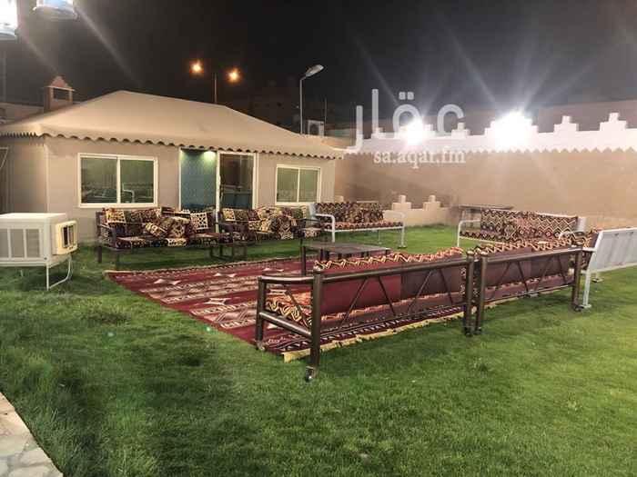 استراحة للإيجار في شارع الزهراء ، حي السعادة ، الرياض